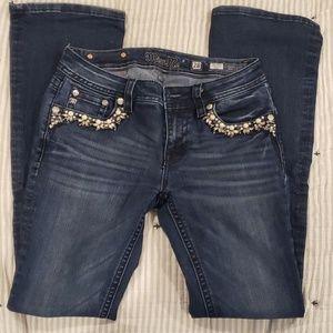 Women size 28 miss me jeans